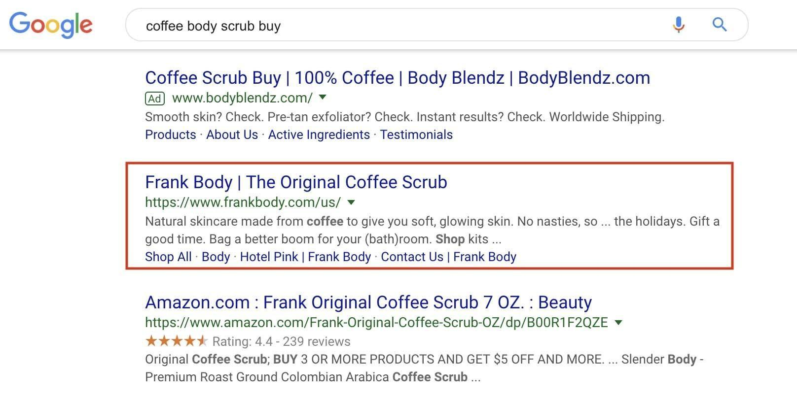 SEO for cosmetic ecommerce