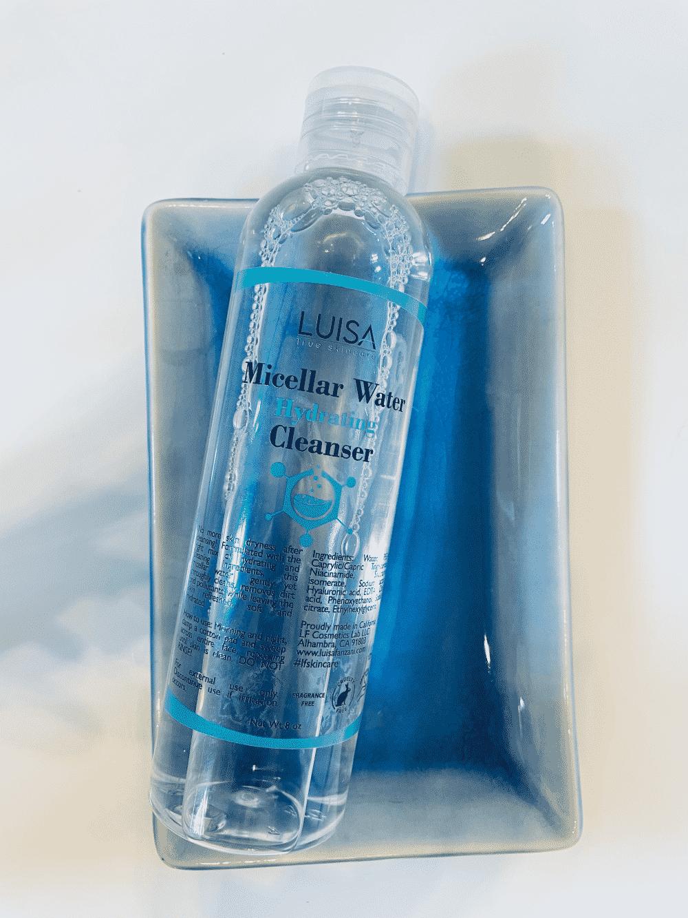 micellar water luisa true skincare